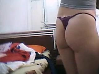 Spycam Shots Show A Sexy Brunette With A Nice Ass Getting D