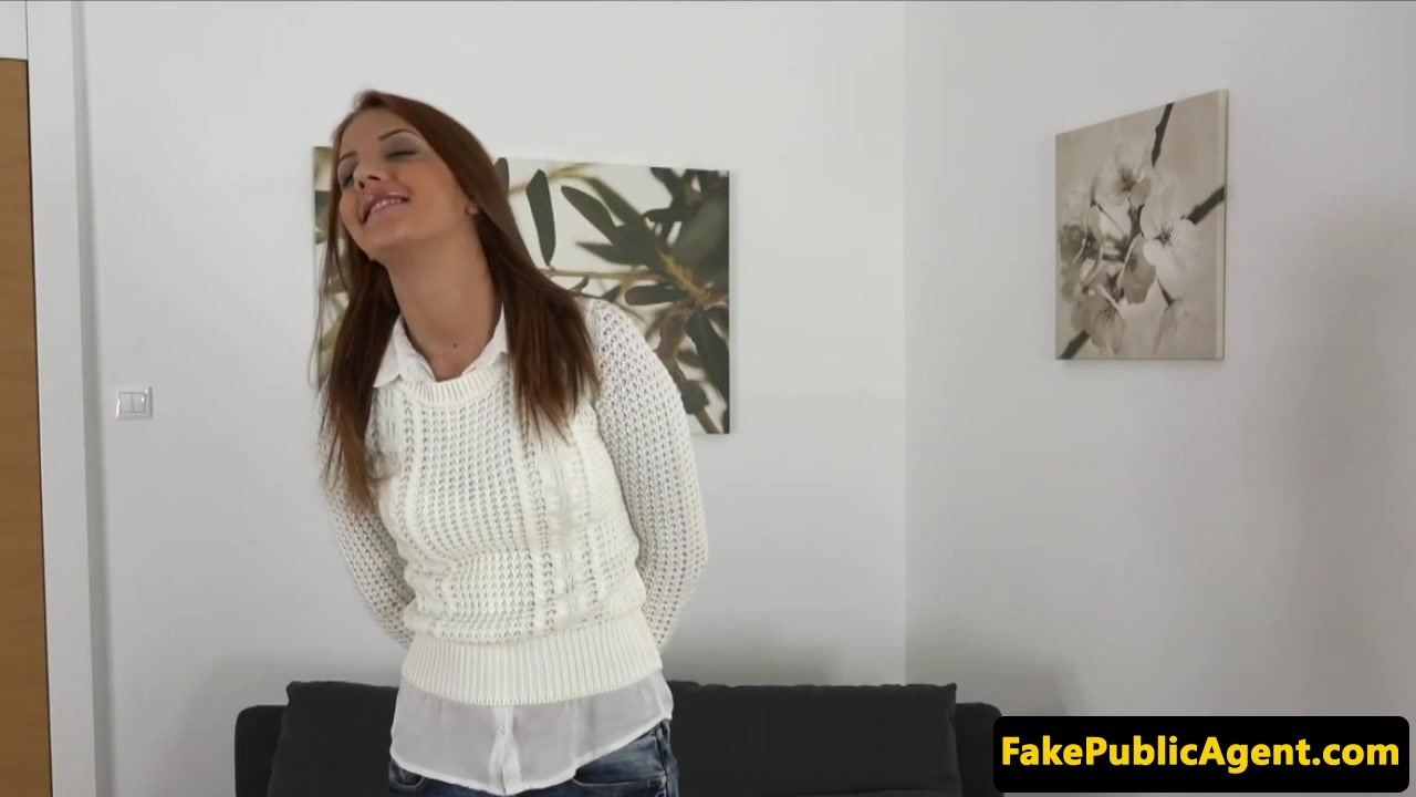 Auditioning ginger creampied on casting couch