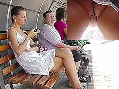 Upskirt Caught On Tape