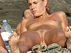 bound-black-flat-chested-girl-goes-to-beach-topless-anubis