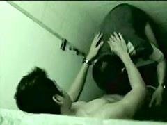 Thai hidden cam public toilet