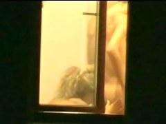 Huge dicked neighbour caught on window 5