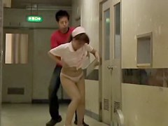 Nurse on sharking video tries to hide her hot panty