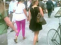Nice look up a Blonde's Little black Dress