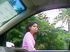 flasing en el carro