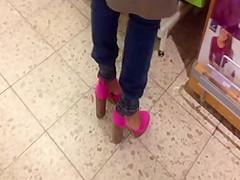 Geile milf beim einkauf