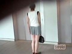 Elevator sharking encounter with na.ve oriental slag being easily tricked