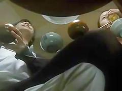 Japan dinner footsie