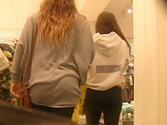 Ass Shopping at the Mall