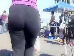 big ass candid booty milf