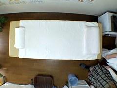 Hidden cam massage video of hot Japanese fingered silly