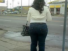 Big Booty Phat Ass Sista(Bus Stop)