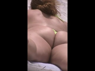 Sexy hot mature ass in thongs