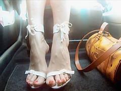 Phrase... super Sexy feet hidden cam