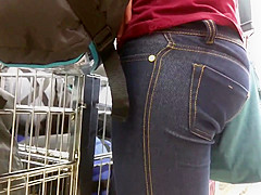 Tight Jeans Ass