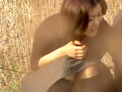 Japanese public sex hidden camera