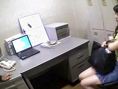 Heavy fuck for a Jap babe in hidden cam Japanese sex clip