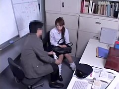 Delicious babe crammed hard on hidden cam Japanese sex video