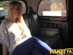 FakeTaxi: Sexy golden-haired with love muffins to die for