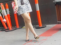 Bare Candid Legs - BCL#043