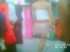 Hot shopping teen