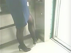 High Heels-Stockings and Pumps Candid
