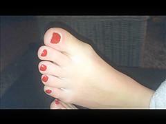 nice feet of my wife