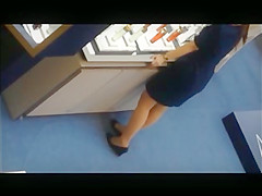 Asian Cosmetic Girl Dipping In Nylons Shoeplay Feet