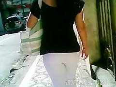 Alicia walking