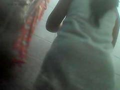 indonesian girl taking a bath