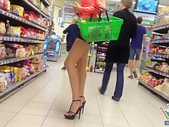 Beautiful Girl in High Heels
