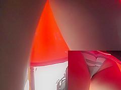 Wonderful upskirt free video with sexy bubble ass