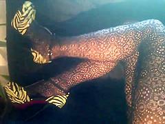 pantyhose flash