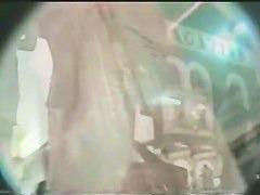 Upskirt amateur video of two hot teens