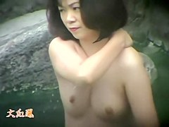 Fat Asian milfs are naked on the hidden spy camera dvd 57 two