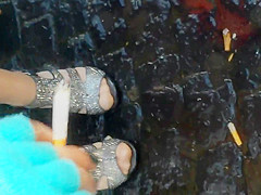 feet in panties