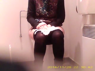 Caught mature hidden toilets hairy pussy sazz
