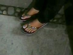 feet pies de una chiclera