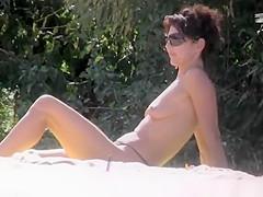Nudist women spied in the river nudist beac