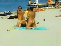 Orgy on the Beach