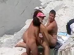 Nudist orgy