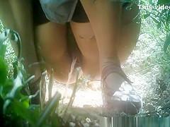 Hidden camera pics of women peeing
