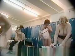 Older Womens in a Locker Room