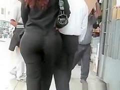 Latin woman with big ass