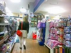 Shoppers in Winter