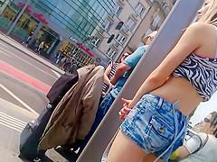 Shy teen girl that's dressed like a slut
