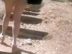 Voyeur Sexy French Wife Upskirt Video