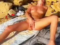 Wife org beach nude