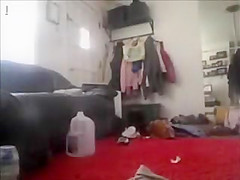 Spy Cam Caught Sister Masturbating