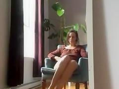Hot Mom Masturbating at Home